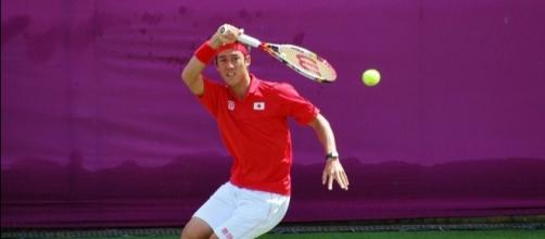 Kei Nishikori of Japan (Wikimedia Commons/Carine06)