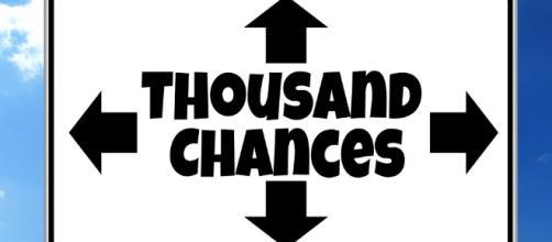 Many Chances. Image via pixabay.