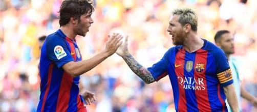 Sergi Roberto: Messi is 'light years ahead' of Cristiano Ronaldo - 101greatgoals.com