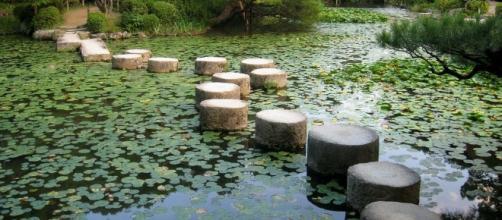 Stepping stones. Image via Pixabay