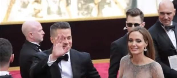 Brad Pitt and Angelina Jolie confirm that they're still getting a divorce. Image[Greekreporter-YouTube]