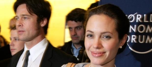 Brad PItt and Angelina Jolie will push through with divorce. (Wikimedia/World Economic Forum)