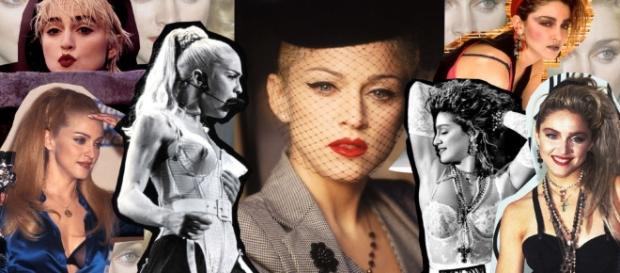 Capelli biondi: i tagli di Madonna - elle.it