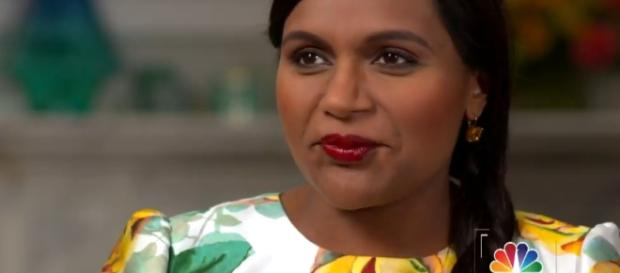 Mindy Kaling shares about her pregnancy for the first time. Image via YouTube/TODAY