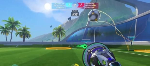 'Overwatch' Lucioball players can now play the brawl with their friends. (UNMASKED_GAMING/YouTube Screenshot)