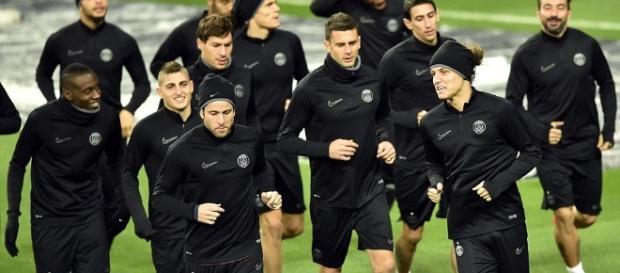 Photo : L'entrainement du PSG avant le choc face au Real - lebuteur.com