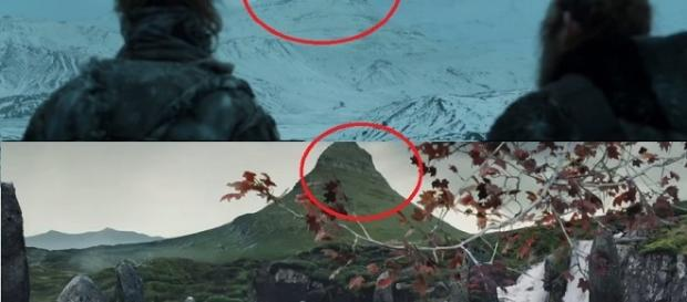 The Arrowhead mountain. Screencap: GameofThrones, Kristina R via YouTube