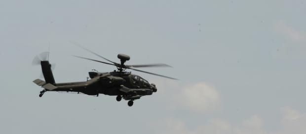 The search continues for the 5 missing crewmen - http://maxpixel.freegreatpicture.com/Aircraft-Helicopter-Military-Apache-Flight-792579