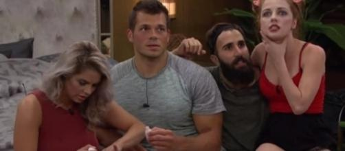 'Big Brother 19' Mark, Elena, Paul, Raven promo shot.** used w/ permission CBS