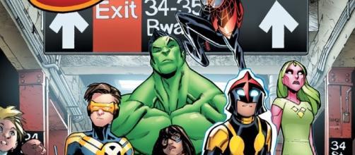 Champions | Marvel Comics | nuovo gruppo | Mark Waid e Humberto Ramos - comicsblog.it