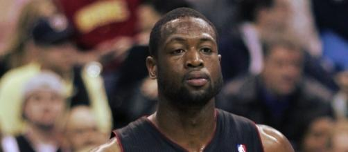 Dwayne Wade in his former team | Wikimedia Commons