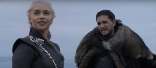 Game of Thrones, Jon Snow and Daenerys Targaryen- (YouTube-Ice and Fire Reviews)