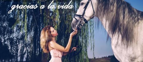 """Gessica Notaro cerca una nuova vita con la canzone latinoamericana """"Gracias a la vida"""""""