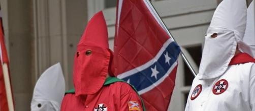 Integrantes da KKK na Carolina do Sul