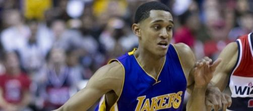 Jordan Clarkson and the Lakers' young corps hope to take a step forward in 2017. Photo Courtesy: Bagumba via Wikimedia Commons