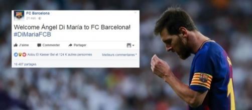 Lionel Messi n'est pas prêt de jouer avec son coéquipier international au FC Barcelone - 2017