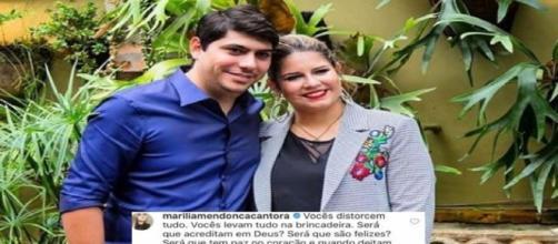 Marília Mendonça desabafa na web.