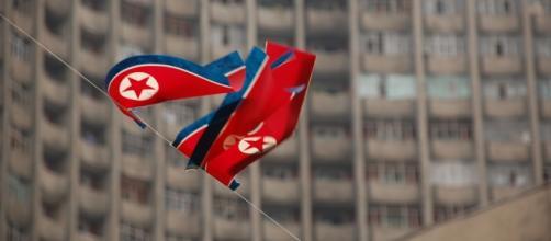 North Korean Flag courtesy of Flickr.
