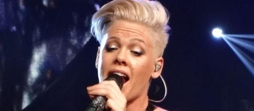 Pink speaks up about her decade-long feud with Christina Aguilera. (Flickr/Allison)
