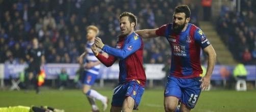 Reading 0-2 Crystal Palace: Yohan Cabaye and Fraizer Campbell ... - dailymail.co.uk