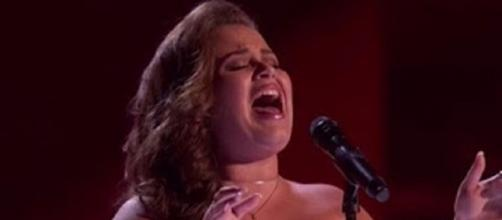 "The ""America's Got Talent"" dream is still coming true for Yoli Mayor, The vote tally takes her to the semifinals.Screencap Talent Recap/YouTube"