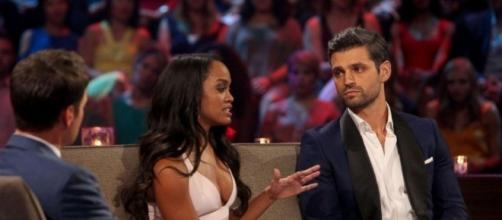 """""""The Bachelorette"""" star Rachel Lindsay reportedly misses Peter Kraus. Photo by Entertainment Tonight/YouTube Screenshot"""
