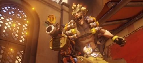The possible new 'Overwatch' map has some lore connections with Junkrat. (image source: YouTube/piturros)