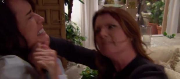 Botte tra Sheila e Quinn Fuller