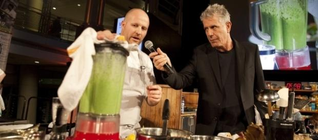 Chef Anthony Bourdain / Photo via DC Central Kitchen, Flickr