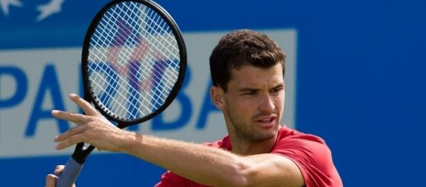Grigor Dimitrov of Bulgaria. [Image via Diliff/Wikimedia Commons]