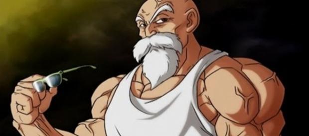 Imagen del maestro Roshi de Dragon Ball Super