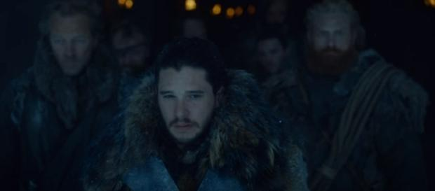 Jon Snow leading a small group behind the Wall/ Photo: screenshot via AresPromo channel on YouTube