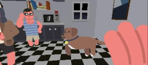 Pet as many dogs as you can in Pet the Dog at the Party | Twitter/Polygon