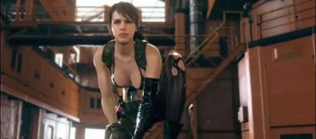 Quiet Drops Into Metal Gear Solid V (via flickr - BagoGames)