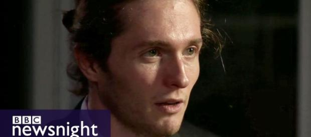 "Raffaele Sollecito, ""To rebuild my image before rebuilding my life."" BC news night 