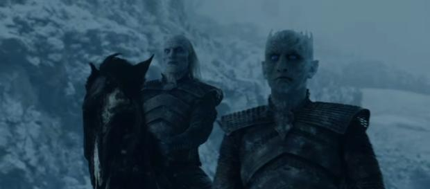 """The Night King in """"Beyond the Wall"""" (Source: GameofThrones via YouTube)"""