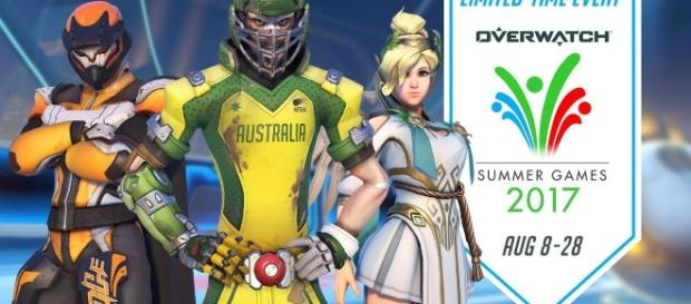 The 'Overwatch' Summer Games 2017. (image source: YouTube/PlayOverwatch)