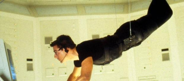 Tom Cruise in the first 'Mission: Impossible' film in 1996. He is currently filming the sixth. / from 'Flickr' - flickr.com