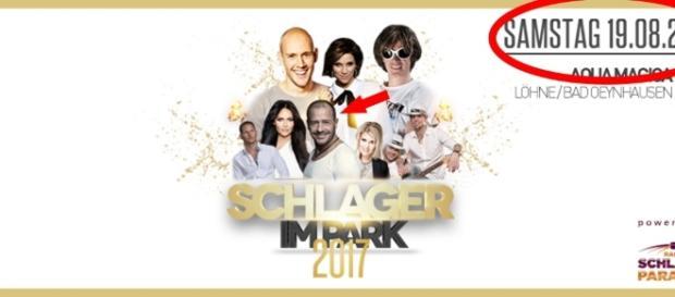 """Willi Herren hat am 19. August 2017 einen Auftritt bei """"Schlager im Park""""; dafür werden weiterhin Tickets verkauft / Foto: Eventim, PR"""