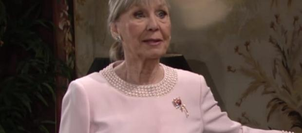 'Young and the Restless' Dina plays into Victor's revenge plans? (via YouTube The Young and the Restless)