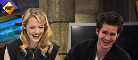 Emma Stone and Andrew Garfield El Hormiguero via Flickr