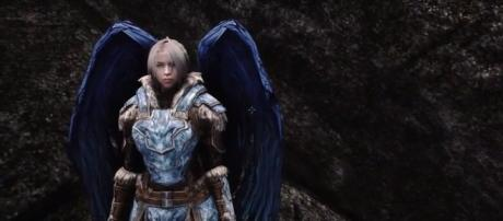 The Divine Conjuration mod turns characters into Angels. Photo via Delta 6/YouTube