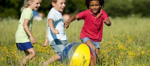 Children being children and playing