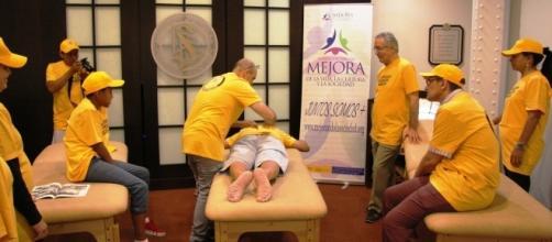 Demostración de Ayuda de Scientology
