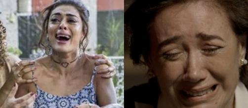 Bibi e Silvana em 'A Força do Querer'