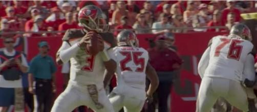 Jameis Winston was among the stars in Thursday night's NFL preseason games. [Image via NFL/YouTube]