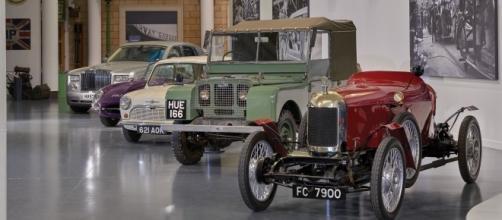 L'ingresso del British Motor Museum.