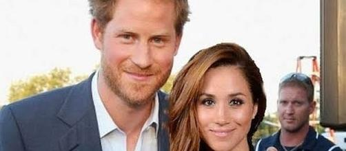 Rumor is that Prince Harry and Meghan Markle are already engaged [Image: Vivid World/YouTube screenshot]
