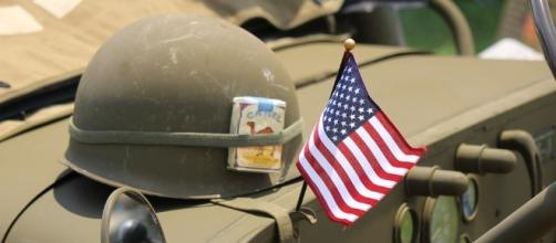 US Army is a honorable force and Gen Pershing was part of it. Photo pixabay.com/en/helmet-flag-patriotism-1475770/