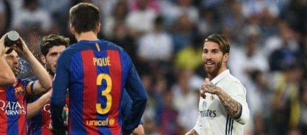 Sergio Ramos le mandó un regalo a Piqué por la final de la ... - soy502.com